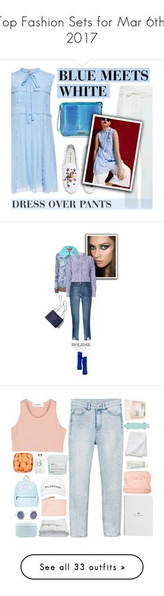 """Top Fashion Sets for Mar 6th, 2017"" by polyvore ❤ liked on Polyvore featuring N°21, IRO, Joshua's, Mohzy, contemporary, Christian Dior, Gucci, Veronica Beard, Frame and 3.1 Phillip Lim"