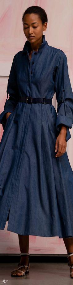 Dress For Success, Fashion Labels, Midnight Blue, Daily Fashion, Chic Outfits, Fashion Dresses, Shirt Dress, Denim, Spring