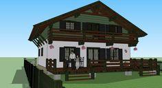 Проект: Дом в стиле Шале, автор Гуляев Ярослав Владимирович [Архитектор] на Vivbo.ru
