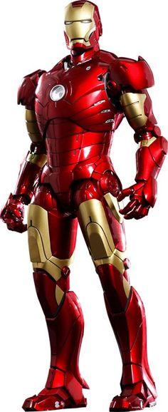 Iron Man MMS Diecast Action Figure 1/6 Iron Man Mark III
