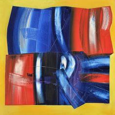 João Vieira Untitled - 149) 17 1990 Painting x Canvas 100 cm x 100 cm  #JoãoVieira #Artist #Art #Oil #Painting #Color #Portugal #Gallery #SaoMamede #Artwork #Lisbon