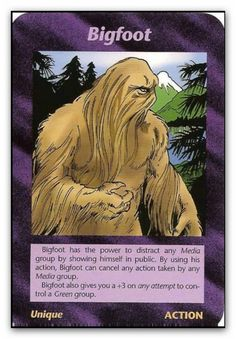 """In 1990, role-playing inventor, Steve Jackson, was planning his newest game, which he would ultimately call the """"Illuminati -- New World Order"""" Game, or """"INWO"""" for short. Jackson was creating a game that would hit very, very close to home. Published in 1995 - bigfoot"""