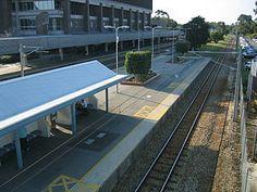 East Perth Train Station, Western Australia