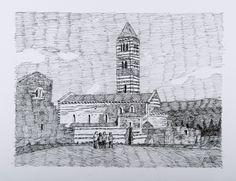 Basilica di Saccargia (1) Codrongianus misure 32x24 in data 2016