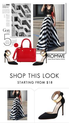 """""""ROMWE 12/6"""" by melissa995 ❤ liked on Polyvore"""