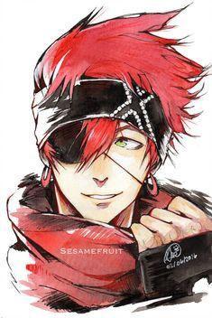 Lavi bookman jr by sesamefruit d gray man lavi, red hair anime guy, red Manga Anime, Anime Boys, Hot Anime Boy, Manga Boy, D Gray Man, Dr Grey, Anime Cosplay, Red Hair Anime Guy, Character Inspiration