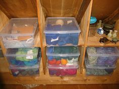 Yarn Stash by ZanyShani, via Flickr