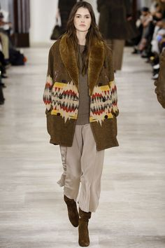 Ralph Lauren Fall 2016 Ready-to-Wear Fashion Show - Vanessa Moody