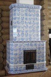 Russian tile stoves and chimneys