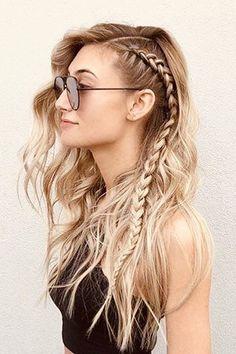 10 penteados fáceis, fresquinhos e perfeitos para os dias de calor (Foto: Pinterest )