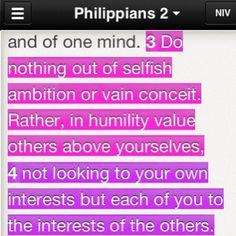 Phil. 2: 3-4