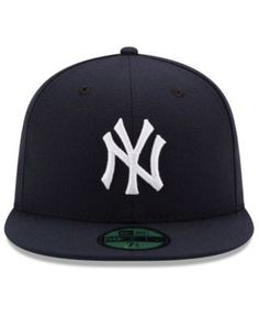 New Era Kids  New York Yankees Authentic Collection 59FIFTY Cap - Blue 6 5  c66513dac0be