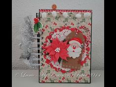 Christmas Junk Journal for the Junk Journal Junkies Swap on FB - YouTube