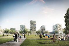 Bayernkaserne Urban Development. Germany. COBE Berlin. 2014 - Beauty & THE BIT