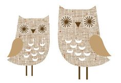 owl wall stickers from dawanda