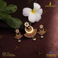 Get in touch with us on 990 444 3030 Jewelry Design Earrings, Gold Jewellery Design, Pendant Jewelry, Gold Jewelry, Gold Necklaces, Gold Earrings, Gold Choker, Chain Jewelry, Necklace Designs