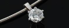 "InLumen Diamantanhänger ""Paris"" mit Silberkette Engagement Rings, Paris, Jewelry, Stud Earrings, Engagement Ring, Ring, Enagement Rings, Wedding Rings, Jewlery"