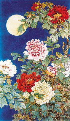 Lu Yifei(陆抑非) , 花好月圆 1954年