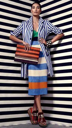 Stripes Galore không hề nhàm chán và đem lại cái nhìn đa chiều