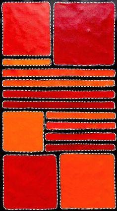 http://www.ebay.com.au/itm/Aboriginal-Art-by-Sally-Clark-59cm-X-106cm-on Ebay
