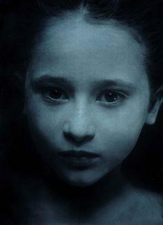 """We're all recovering children.""- James Hollis PhD, Jungian Analyst (Gottfried Helnwein ~ Sleep 9, 2004 oil, acrylic)"