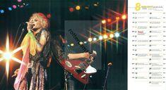 HANOI ROCKS MICHAEL MONROE - POSTER FROM JAPANESE MAGAZINE BURRN! AUGUST 2002   eBay