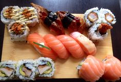 Sushi Sushi Time, Ethnic Recipes, Food, Essen, Meals, Yemek, Eten