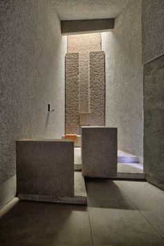 Ermita de San Juan Bautista / Alejandro Beautell http://www.archdaily.com/413374/saint-john-baptist-chapel-alejandro-beautell/