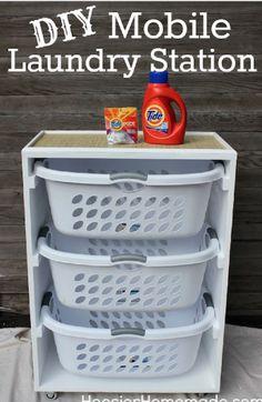 11 Tipps und Lifehacks für eine perfekt organisierte Waschküche auf kleinem Raum
