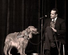 love this photo of Luis Carlos Montalvan & his service dog Tuesday, who will be our guests at Home for Life's gala brunch the Fall Fancy Feast, September 23, 2012 at the Calhoun Beach Club: http://www.homeforlife.org/events.htm