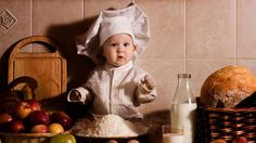 Baby Chef With Milk