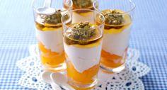 Fromage blanc aux abricotsVoir la recette >>