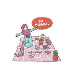 Eid Mubarak on Behance Ramadan Greetings, Eid Mubarak Greetings, Happy Eid Mubarak, Eid Mubarak Photo, Eid Mubarak Quotes, Eid Card Designs, Ied Mubarak, Ramadan Poster, Islamic Cartoon