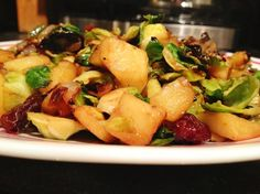 How to Make Brussels Sprout and Apple Hash Recipe
