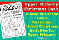 Christmas Activity Book - Upper Primary
