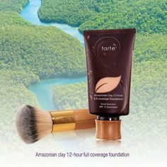 This is the best foundation! Use it with the bamboo brush for an airbrush finish. It makes my skin look amazing!