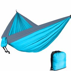 Portable Double Person Camping Garden Leisure Travel Hammock Camping Equipment Multi Tool For Outdoor Recreation 6 Colors Price Remains Stable Outdoor Tools