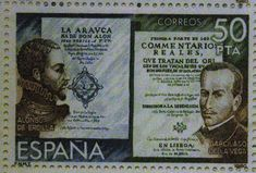 Sellos - Alonso de Ercilla-Garcilaso de la Vega