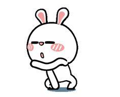 Cartoon Gifs, Cute Cartoon, Cartoon Art, Cute Gif, Funny Cute, Kawaii, Rabbit Wallpaper, Polaroid Template, Rabbit Gif