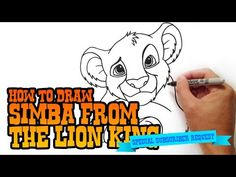 Learn how to draw Simba from Lion King in this simple step by step narrated video tutorial. I share tips and tricks on how to improve your drawing skills thr. Disney Princess Aurora, Disney Princess Drawings, Disney Drawings, How To Draw Simba, Young Simba, Drawing Tutorials For Beginners, Mermaid Drawings, Le Roi Lion, Animal Drawings