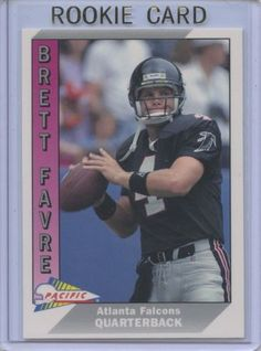 1991 Pacific Brett Favre #551 - Rookie