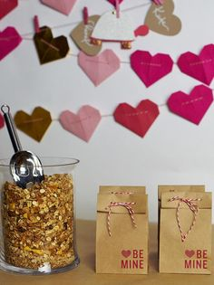 Yummy Party Favors - Host a Valentine's Day Card-Making Party on HGTV