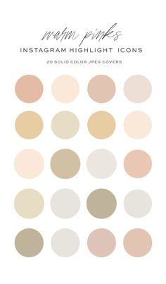 Colour Schemes, Color Combos, Color Trends, Hight Light, Neutral Colour Palette, Neutral Paint Colors, Instagram Highlight Icons, Story Highlights, Abstract Shapes