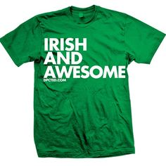 I should buy this then print JK I'm Russian on the back for st pattys day.