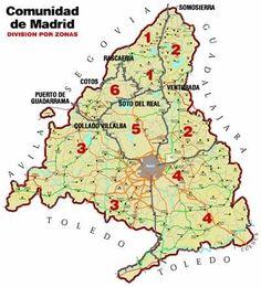 Rutas de senderismo por Comunidad de #Madrid