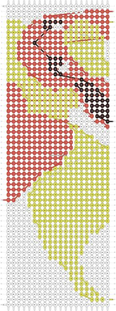 Alpha Pattern #15333 Flareon