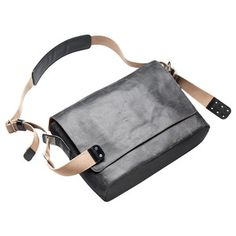 Barbican Messenger Bag L Asphalt, $335, now featured on Fab.
