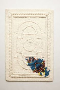 Judith Watson   Roped Relief Rug #anthrofave