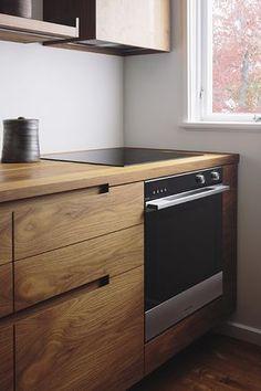 New Wood Kitchen Stove Modern Ideas Kitchen Room Design, Modern Kitchen Design, Home Decor Kitchen, Interior Design Kitchen, Kitchen Furniture, Kitchen Ideas, Cheap Furniture, Furniture Dolly, Discount Furniture
