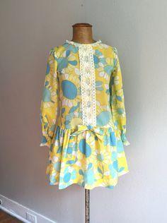 Vintage 1960s Micro Mini Dress / Deadstock W by billowyvintage